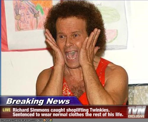 crazy richard simmons the ghey