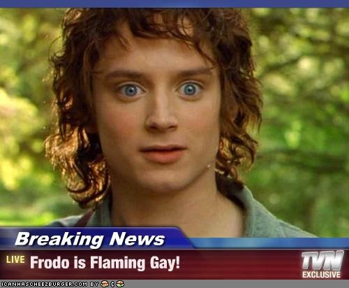 Is frodo gay