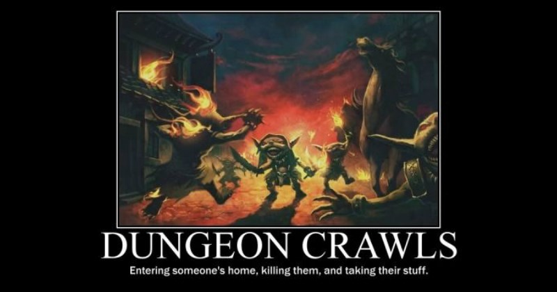demotivational posters demotivational dungeons and dragons
