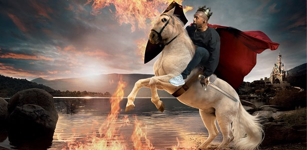ThIs Kanye West Photoshop Battle Is GOAT