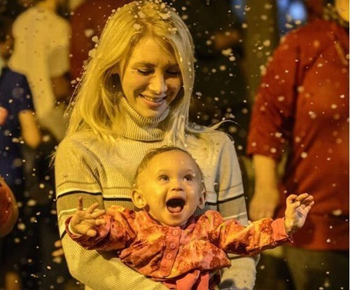 Babies snow day kids snow parenting - 160773