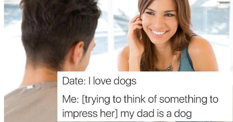 guy tries to impress girl