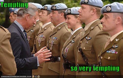 prince charles,soldiers