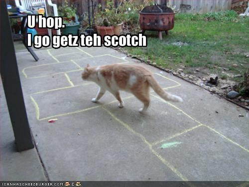 alcohol,do not want,game,hopscotch,outside