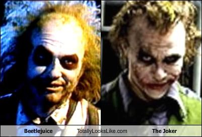 batman beetlejuice heath ledger Michael Keaton scary the joker tim burton