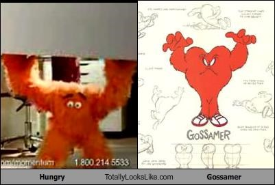 cartoons Gossamer hungry looney toons weight watchers - 1624212224