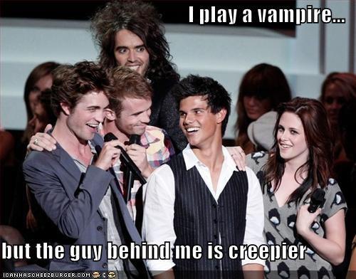 creepy,Russell Brand,twilight,vampires