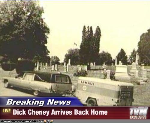 cemetery,Dick Cheney,Republicans,vice president