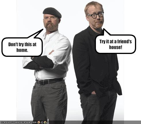 adam savage jamie hyneman mythbusters