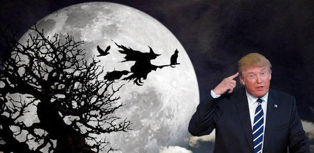 donald trump,witch