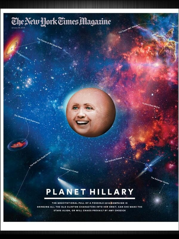 twitter list photoshop Gravity Hillary Clinton you asked for it The New York Times Magazine