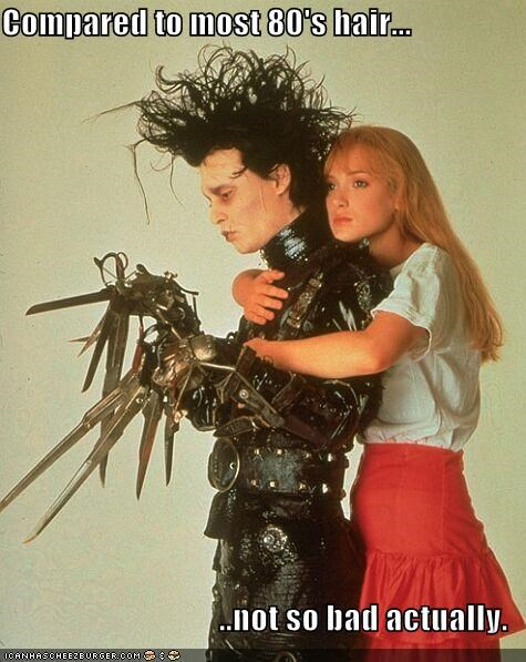 Edward Scissorhands Johnny Depp winona ryder - 1638598912