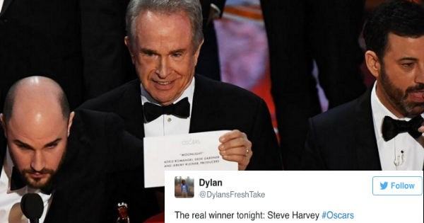 FAIL cringe steve harvey academy awards oscars