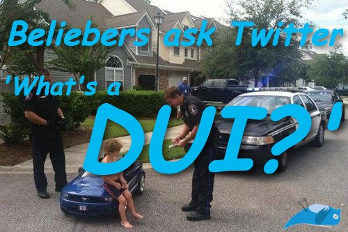 twitter facepalm kids these days arrest dui justin bieber - 164101