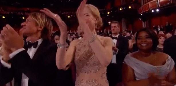 Nicole Kidman,clapping