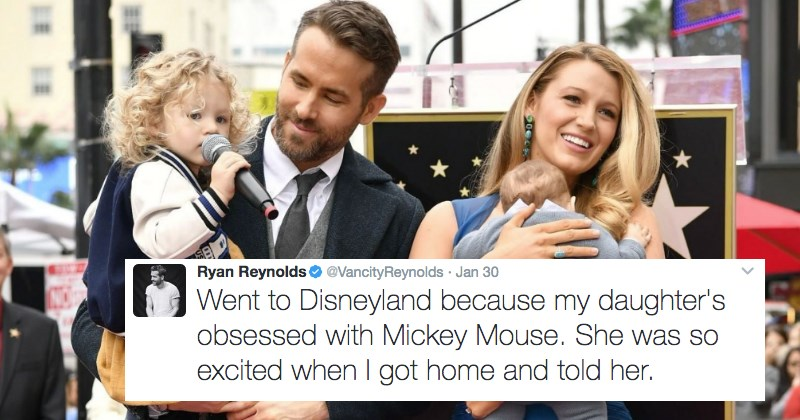 FAIL Blog twitter relationships parenting ryan reynolds win