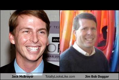 Jack Mcbrayer Totally Looks Like Jim Bob Duggar Cheezburger