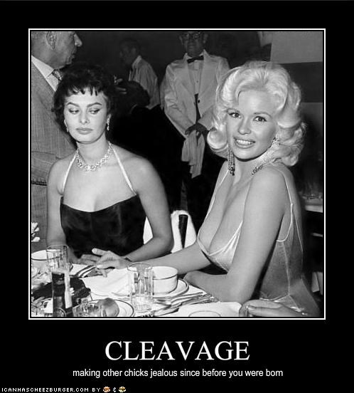 bewbs,Jayne Mansfield,movies,Sophia Loren