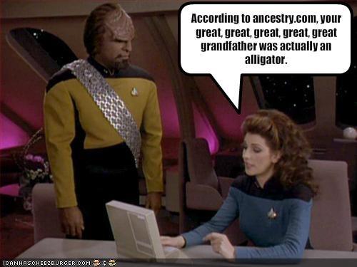 cult figures Marina Sirtis Michael Dorn sci fi Star Trek Troi Worf - 1657791744