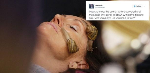 facial,snail