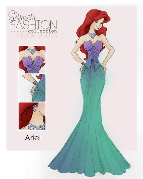 disney princesses fan art