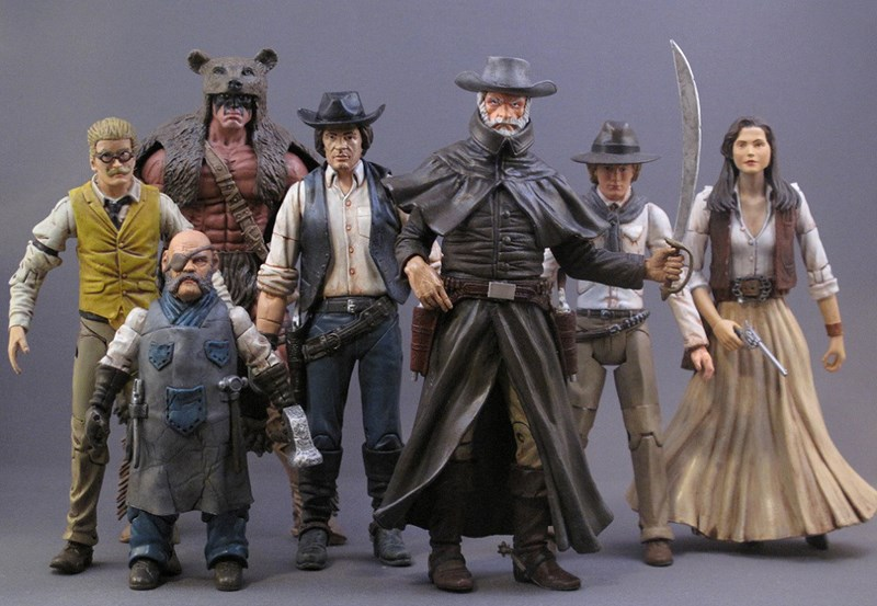 West Wars: The Action Figurine Set That Reimagines Star Wars in the Wild West