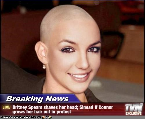 Britney head picture shaved spearss much