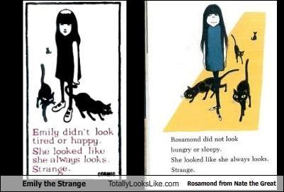 books cartoons Emily the Strange hot topic - 1668988160