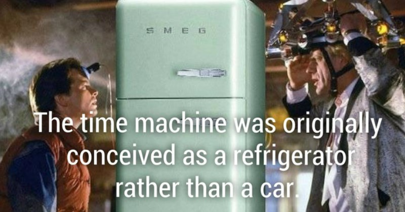 back to the future movie facts