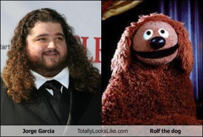 Jorge Garcia Totally Looks Like Rolf the dog