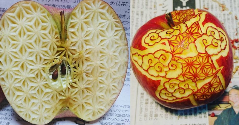 Intricate Vegetable Carvings: Beautiful or Disconcerting?