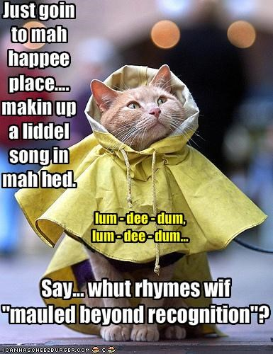 Rainy Day Song Cheezburger Funny Memes Funny Pictures