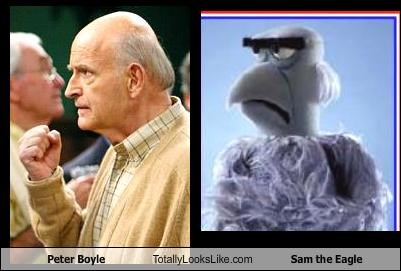 actor,celeb,Peter Boyle,Sam the Eagle,the muppets