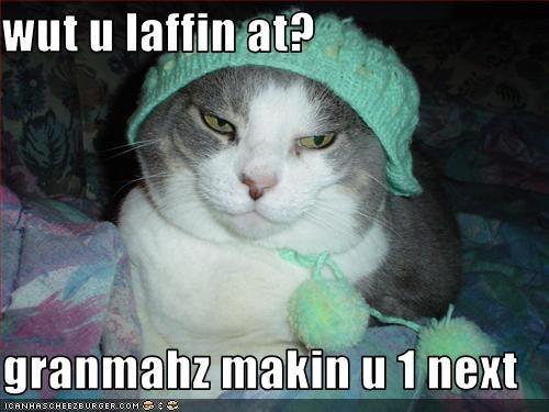 costume grandma hat laughing - 1701130496