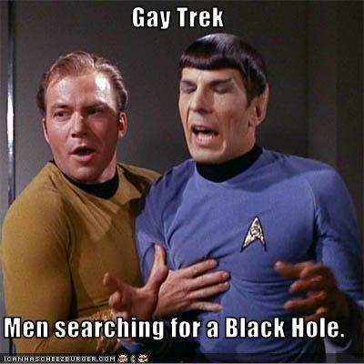 Gay black hole