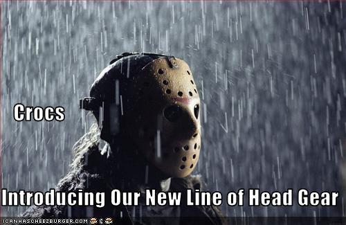 crocs friday the 13th hockey horror movies - 1731256064