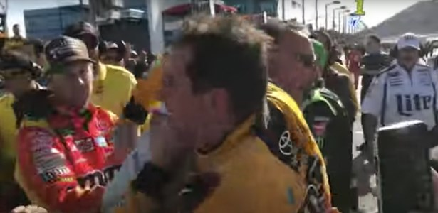 Nascar Was Actually Interesting for Once, When Kyle Busch and Joey Logano Got in a Fight at the Kobalt 400