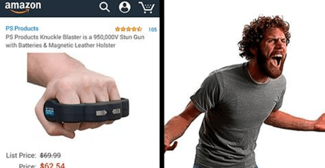 amazon stun gun shopping awesome amazing win - 1732101