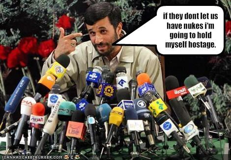 iran islam Mahmoud Ahmadinejad nuclear weapons president