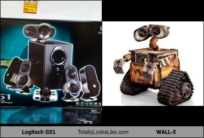 cartoons electronics wall.e