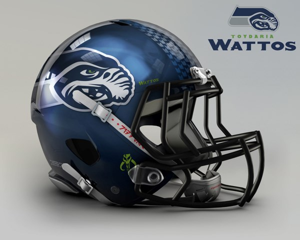 nfl star wars helmet art