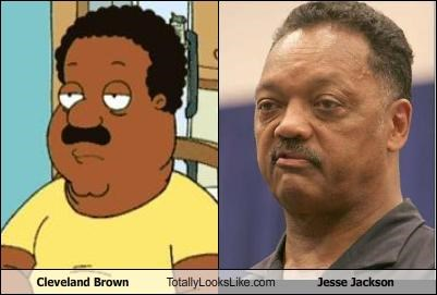 cartoons cleveland brown family guy fox Jesse Jackson religion