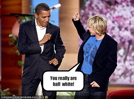 barack obama dancing democrats ellen degeneres Media president - 1749973248