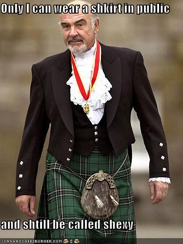 james bond kilt movies scotland sean connery sexy Brits the hawt - 1754574080