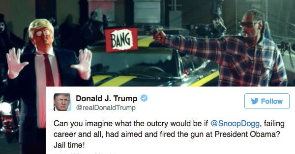 Music twitter FAIL donald trump reactions political pictures snoop dogg politics - 1755141