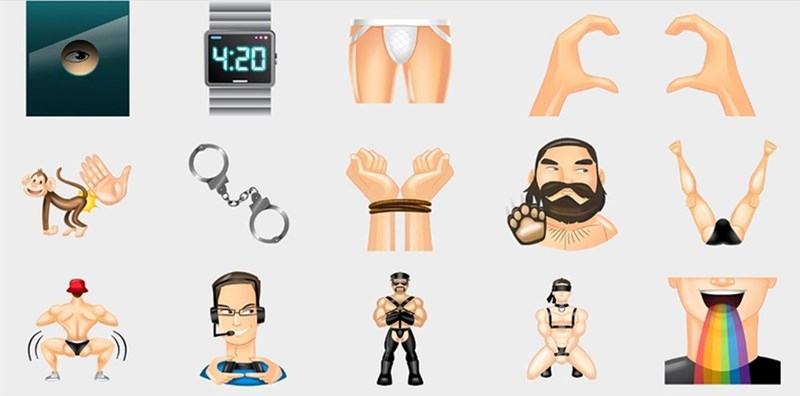 emoji grindr tinder dating - 1760261