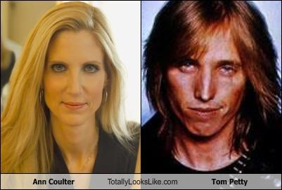 Ann Coulter Totally Looks Like Tom Petty