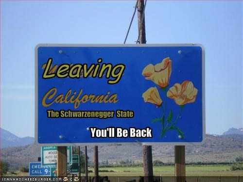 Arnold Schwarzenegger california Governor Republicans state signs - 1761272064