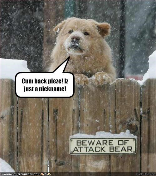attack fence Gentle Giant snow whatbreed