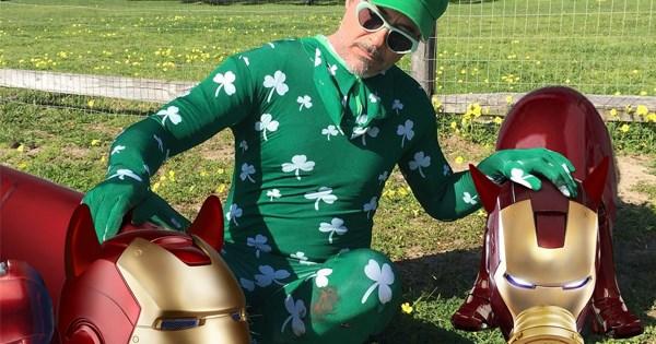 robert downey jr photoshop battle iron man